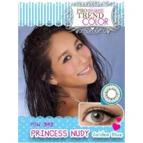 Princess Nudy Golden Blue