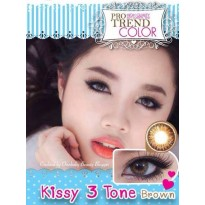 Kissy 3 Tone Brown